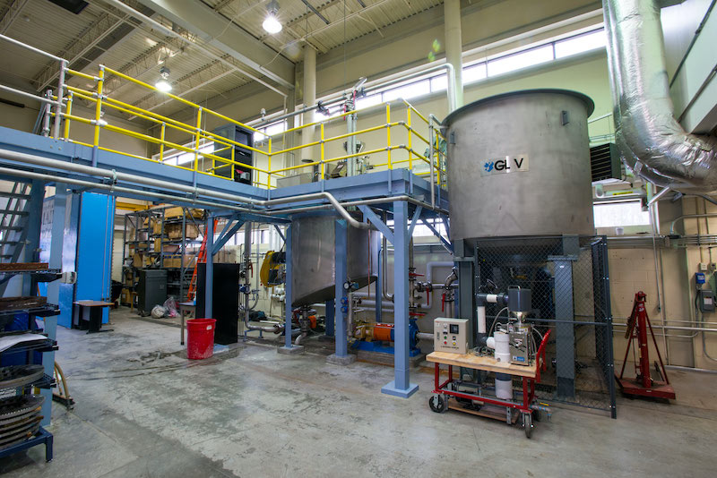 The Nanomaterial Pilot Plant at the University of Maine