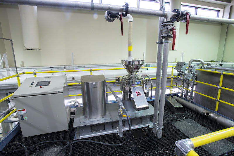 Masuko MKZB15-50J supermass colloider at the UMaine Process Development Center