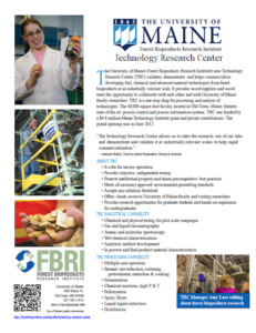 Image showing Technology Research Center one-page flyer
